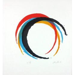 PINELLI Bernard - Une seul graphisme 4 couleurs