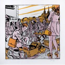 DELOUPY - Le 30 × 40 Chaland