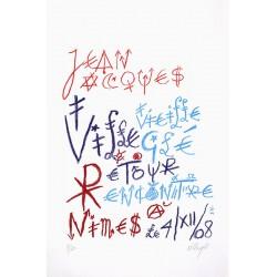 VILLEGLÉ Jacques -...