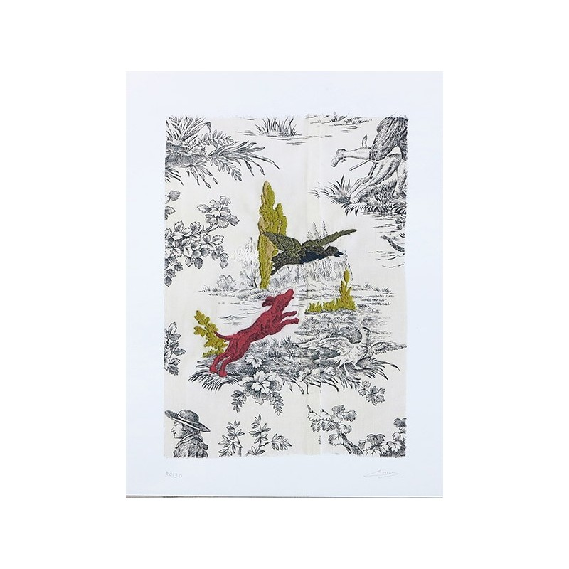CARAZ Delphine - Le Chien rouge et l'oiseau