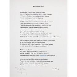 BOURG Lionel - Reconnaissance