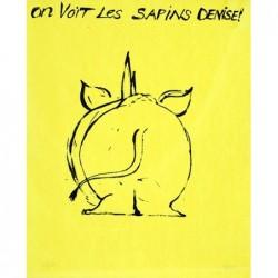 BARRY Jacques - On voit les sapins Denise