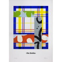 BENDINE-BOUCAR Pierre - Das Bonbon [bleu]