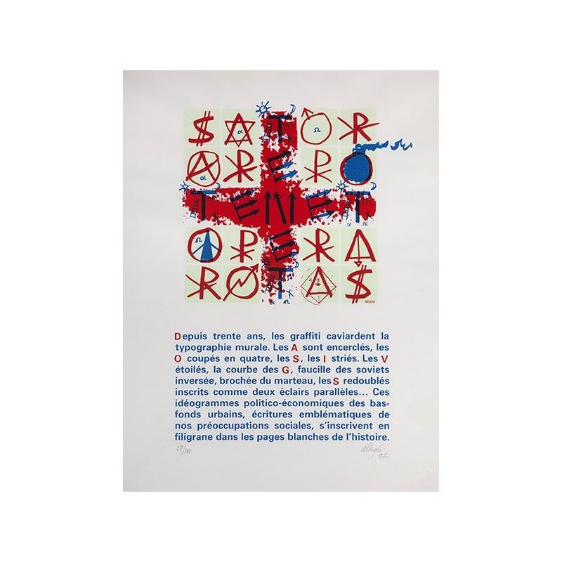 VILLEGLÉ Jacques - Sator