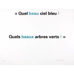ZADEK Annie - Beau beaux